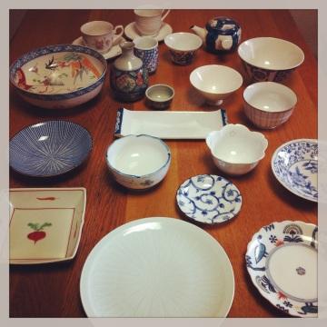 廚櫃裡的可愛食具|Pretty wares from the cupboard|食器棚の中のかわいい食器